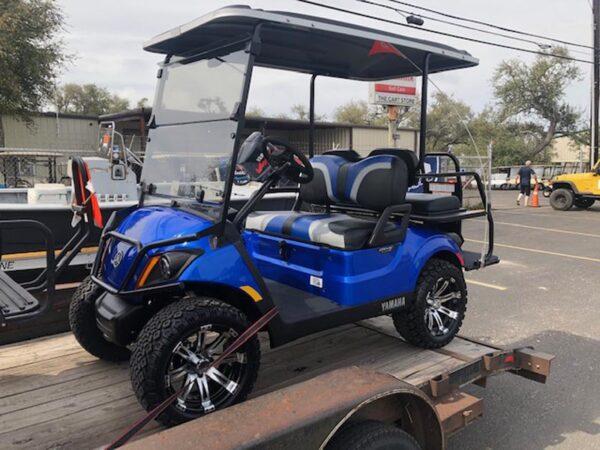 Used 2018 Yamaha Drive 2 Blue