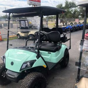 New 2021 EFI gas Yamaha 4 passenger golf cart