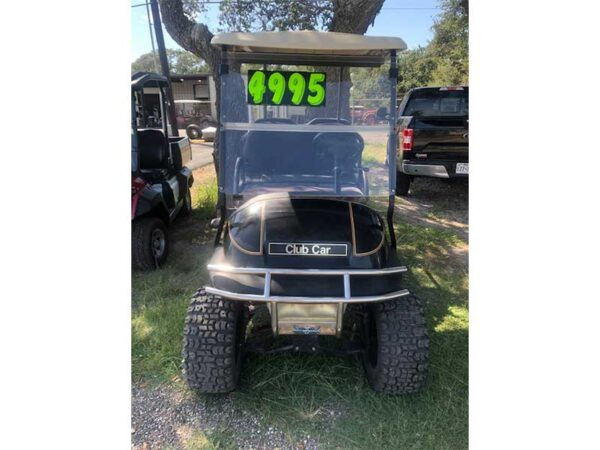 Used electric Club Car golf cart