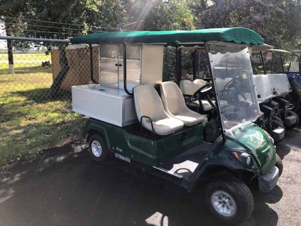 Used 2016 gas vender golf cart 2