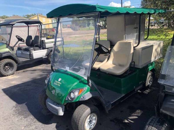 Used 2016 gas vender golf cart 3