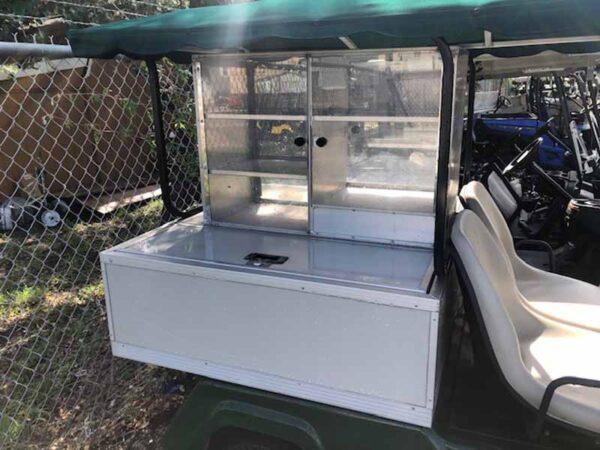 Used 2016 gas vender golf cart 6