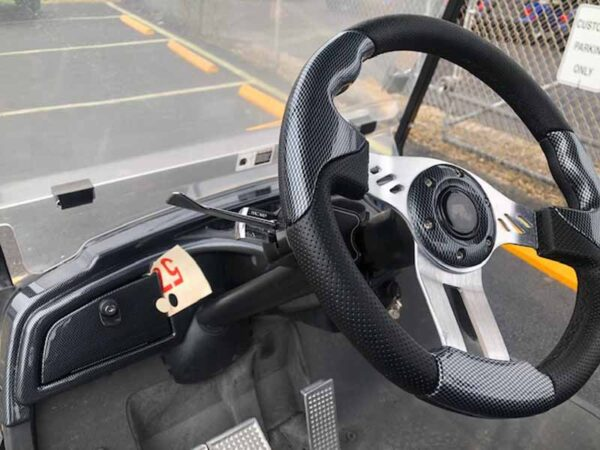 Used 2016 EFI gas Yamaha golf cart 4