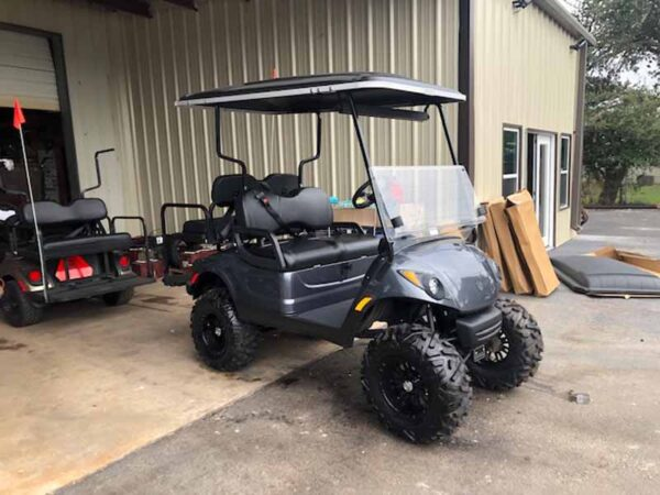 Used 2016 EFI gas Yamaha golf cart 5