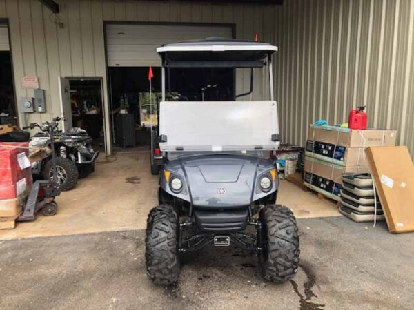 Used 2016 EFI gas Yamaha golf cart 6