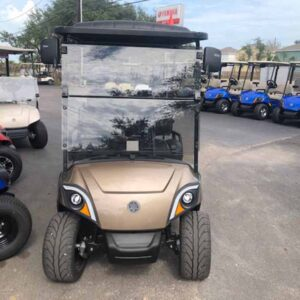 New 2021 Yamaha 4 passenger golf cart `