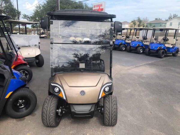 New 2021 Yamaha 4 passenger golf cart `