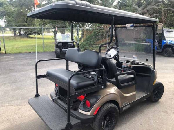 New 2021 Yamaha 4 passenger golf cart 5