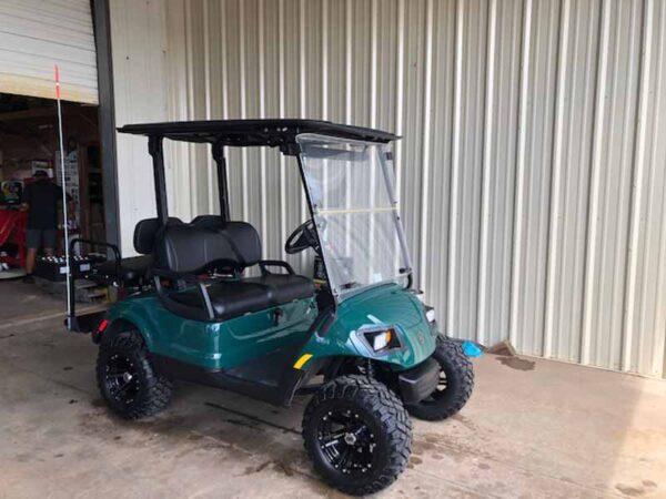 Used 2016 EFI gas Yamaha golf cart 2
