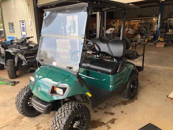 Used 2016 EFI gas Yamaha golf cart 4