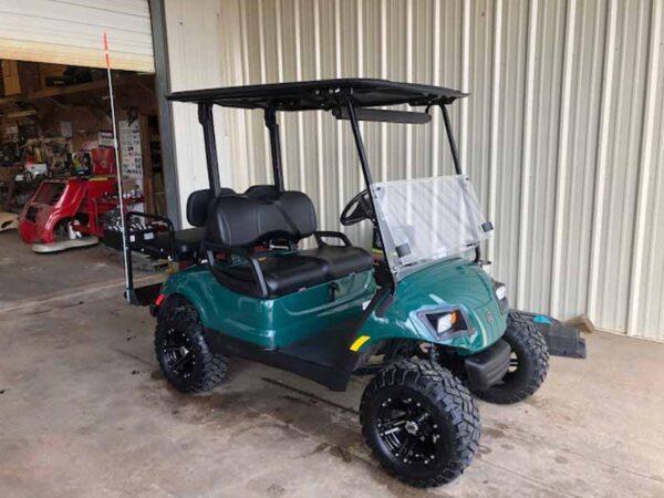 Used 2016 EFI gas Yamaha golf cart 5