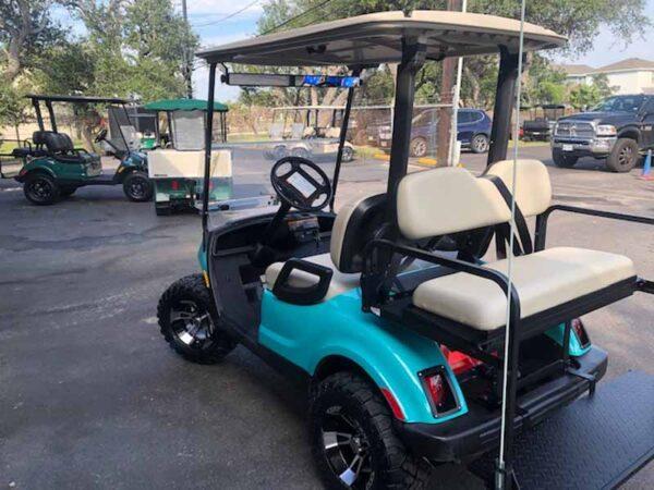 Used 2016 EFI gas Yamaha 4 passenger golf cart 5