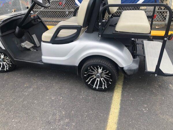 Used 2015 electric Yamaha golf cart 2