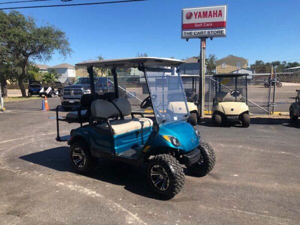 New 2021 yamaha EFI gas golf cart Custom paint 1