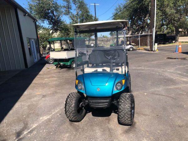 New 2021 yamaha EFI gas golf cart Custom paint 2