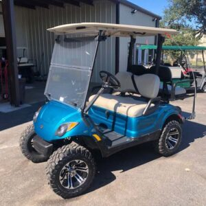 New 2021 yamaha EFI gas golf cart Custom paint 3