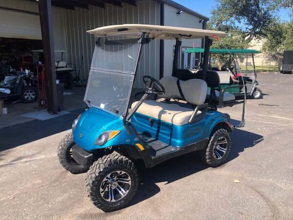 New 2021 yamaha EFI gas golf cart Custom paint 3