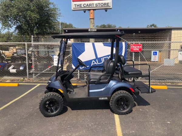 2021 EFI gas Yamaha golf car 1
