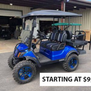New 2021 Yamaha Golf Carts 3