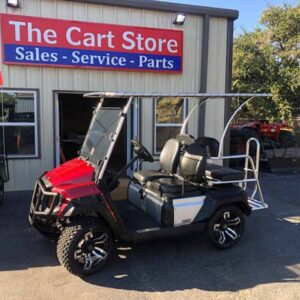 2019 Yamaha gas golf cart 1