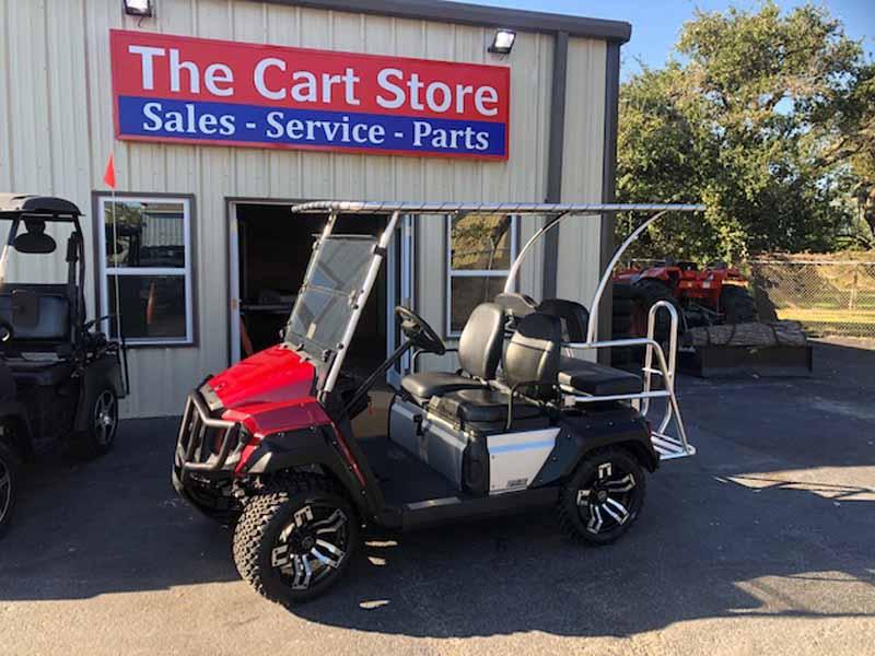 2019 Yamaha gas golf cart 1