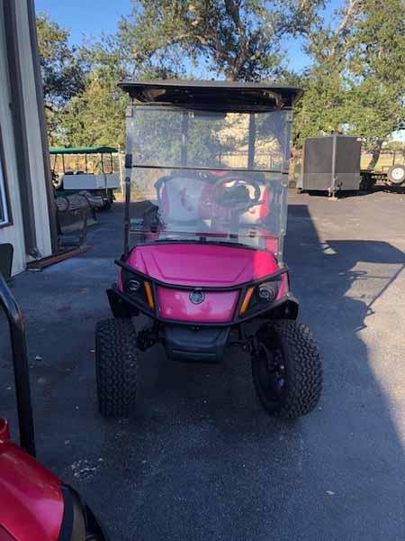 Used 2019 efi gas Yamaha golf cart 1