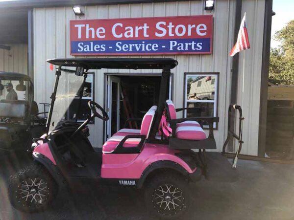 Used 2019 efi gas Yamaha golf cart 2