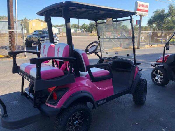 Used 2019 efi gas Yamaha golf cart 4