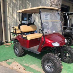 2015 EZ-GO gas custom golf cart 2