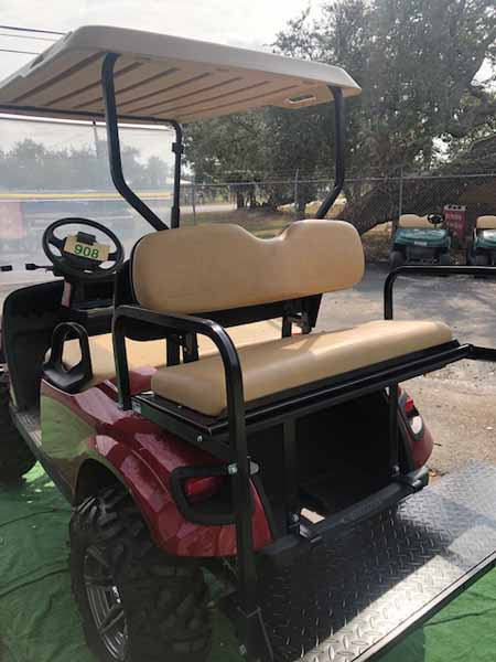 2015 EZ-GO gas custom golf cart 4