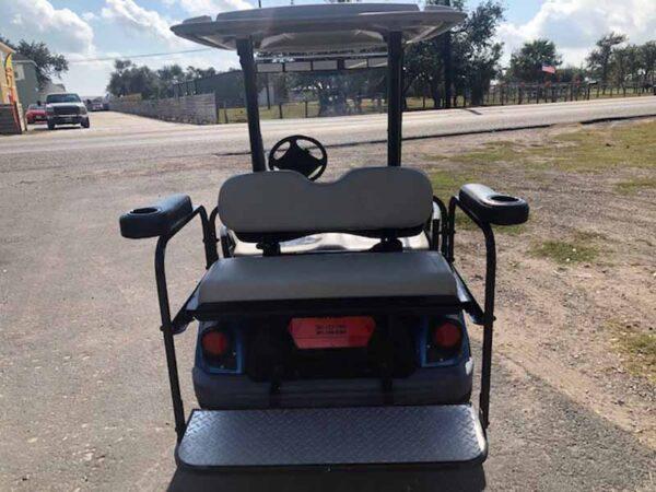 2016 Yamaha EFI gas golf cart 4 passenger 1