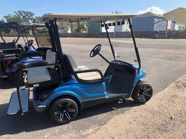 2016 Yamaha EFI gas golf cart 4 passenger 3