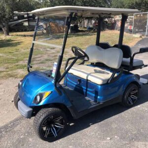 2016 Yamaha EFI gas golf cart 4 passenger 4