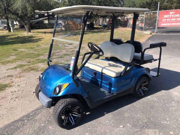 2016 Yamaha EFI gas golf cart 4 passenger 4