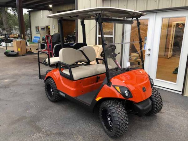 2021 yamaha drive 2 custom ut orange 5
