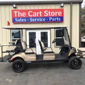 New 2021 Yamaha 6 passenger efi gas golf cart 1