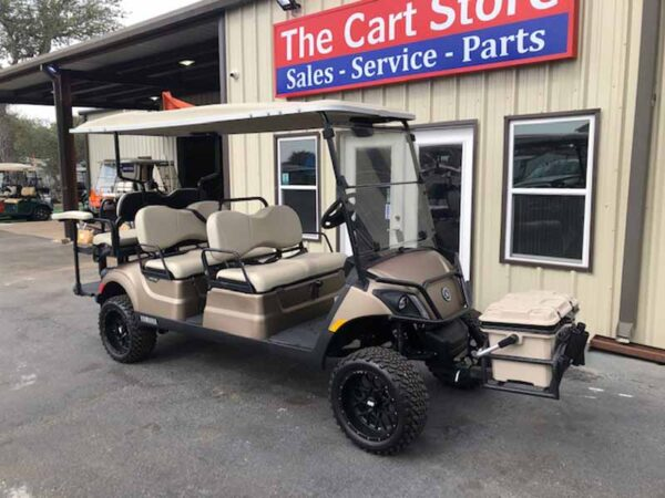 New 2021 Yamaha 6 passenger efi gas golf cart 2