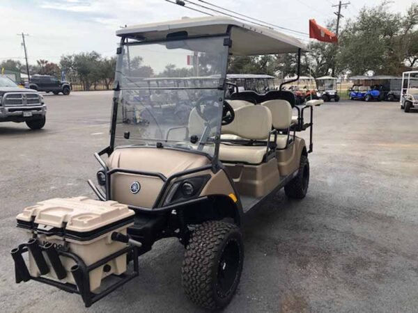 New 2021 Yamaha 6 passenger efi gas golf cart 4