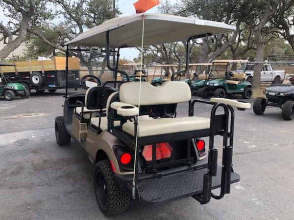 New 2021 Yamaha 6 passenger efi gas golf cart 6